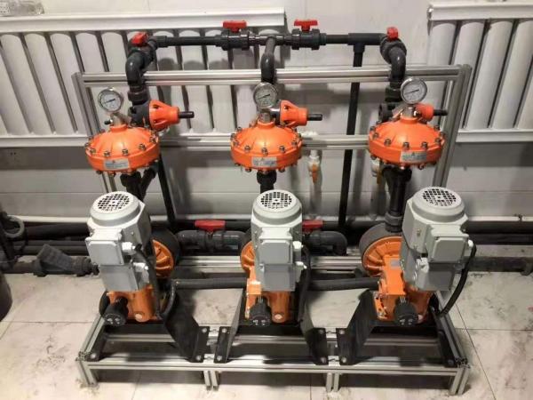 ITC计量泵在自来水厂加药系统应用案例