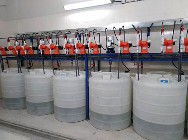 电镀厂污水处理工程加药系统
